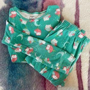 Carter's Size 7 Cotton Pajama Set - Owls